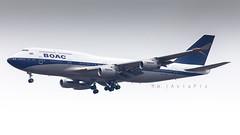 British Airways (BOAC Retro)   G-BYGC   Boeing 747-436   London Heathrow Airport (LHR/EGLL) (M.W. AviaPix) Tags: british airways boac retro gbygc boeing 747436 747400 747 london heathrow airport lhr egll aircraft airplane aviation