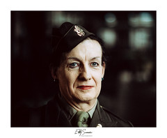 The Aunt (Eddy Summers) Tags: fa77 77limited pentaxk1 pentaxaustralia pentax k1captures k1 portrait portraitphotography rni rnifilm filmsimulation reallyniceimages flash flashfired cactusrf60x cactusv6ii agfacolor agfacolor50s war cosplay soldier ironfest costume reenactment