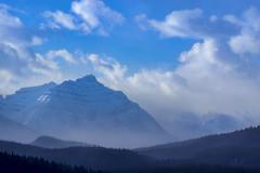 A Jimmy Chin Sunrise.. (Mister Day) Tags: mountains sunrise landscapes alpine jasper alberta canada