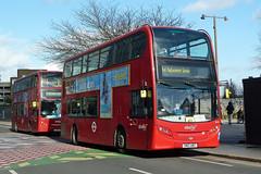 abellio london 9534 SN12 ABZ & 9405 LJ56 VTE (mj.barbour) Tags: alexander dennis enviro 400 tram replacement bus abellio london 9534 sn12 abz 9405 lj56 vte