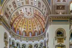 cathedral of the sacred heart | 12.15.18 | 38 (laura padgett andersen) Tags: nationalregisterofhistoricplaces catedral catholic virginia travel cathedralofthesacredheart cathedralplace monroeparkhistoricdistrict richmond josephhubertmcguire us renaissancerevival dome richmondcathedral usa mccormicksbarbershop cocacola inbottles neonsign broadstreet 1ststreet