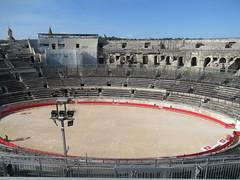 IMG_5809 (Damien Marcellin Tournay) Tags: amphitheatrumromanum amphithéâtre amphithéâtreromain nîmes gard france romains romans gladiators gladiateurs gaulenarbonnaise