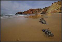 """Don't remember the name"" Beach 😆 (LilFr38) Tags: lilfr38 fujifilmxpro2 fujifilmfujinonxf1024mmf4rlmois algarve portugal beach ocean sand wave cliff rock plage océan sable vague rocher falaise"