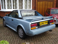 1989 Toyota MR2 Twin Cam 16v (Neil's classics) Tags: vehicle 1989 toyota mr2 twin cam 16v car