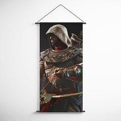 Assassin's Creed Origins 23 Decorative Banner Flag for Gamers (gamewallart) Tags: background banner billboard blank business concept concrete design empty gallery marketing mock mockup poster template up wall vertical canvas white blue hanging clear display media sign commercial publicity board advertising space message wood texture textured material wallpaper abstract grunge pattern nobody panel structure surface textur print row ad interior
