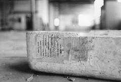 Americium (TheGraffitiHunters) Tags: nj new jersey street photography photo walks urban enviroment ghetto americium 241 radioactive trash bando abandoned building film black white bw tmaxx tmax 400