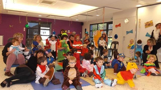Le carnaval se prépare au service petite enfance