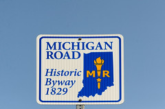 Michigan Road Sign (Bracus Triticum) Tags: michigan road sign indianapolis インディアナポリス indiana インディアナ州 unitedstates usa アメリカ合衆国 アメリカ 8月 八月 葉月 hachigatsu hazuki leafmonth 2018 平成30年 summer august