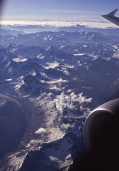 Getting to Ladakh by air (Paolo Levi) Tags: himalayas himachal mountain india canon ftb fd 50mm ilfochrome