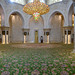 Main prayer hall at Sheikh Zayed Grand Mosque