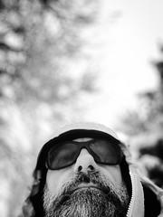 unterwegs... (Toni_V) Tags: iphone xr apple iphoneography selfie me bw schwarzweiss blackwhite monochrome winter snow schnee zurich zürich kantonzürich switzerland schweiz svizzera suisse svizra europe hiking wanderung sundaymorningphototour ©toniv 2019 190203 dof bokeh