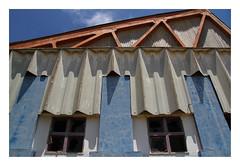 Industrial rhythm /weathered (AurelioZen) Tags: europe portugal algavre sotavento tavira industrialbuilding