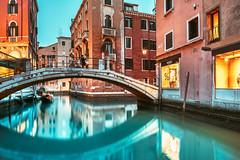 Canal | Venice, Italy 2019 #39/365 (A. Aleksandravičius) Tags: canal people lights street venice bridge italy night long exposure landscape water italia nikon 20mm f18g nikkor 365one 365days 3652019 z7 nikonz7 20mmf18g afdnikkor20mmf18ged nikkor20mm nikon20mm18g nikon20mm 365 project365 39365