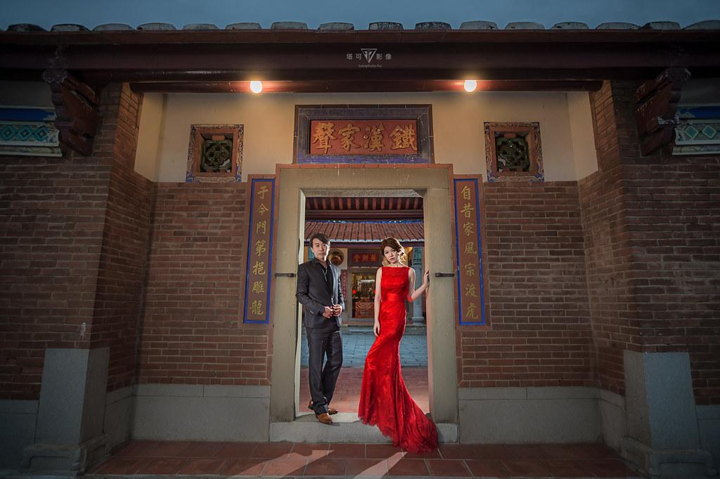 """""""塔可影像,婚紗攝影,prewedding,北部婚紗景點,新竹婚紗,劉式雙堂屋,中式建築"""""""