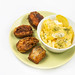 Fried Hake with Potatoe salad