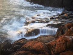 Mersey Bluff Rocks Morning Light (Lesmacphotos) Tags: beach seascape rocks sea mersey bluff morning waves ocean