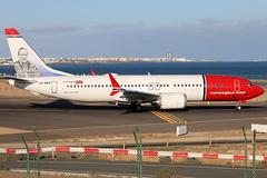 LN-BKE_01 (GH@BHD) Tags: lnbke boeing 737 738 737max8 737max max max8 dy nax d8 ibk norwegianairshuttle norwegianairinternational ace gcrr arrecifeairport arrecife lanzarote aircraft aviation airliner