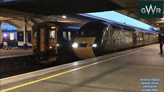 GREAT WESTERN RAILWAY HST 43187 SPRINTER 150221 NEWTON ABBOT 09032019 (MATT WILLIS VIDEO PRODUCTIONS) Tags: great western railway hst 43187 sprinter 150221 newton abbot 09032019