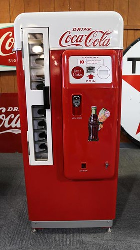 Coca Cola Cavalier Drink Machine ($1904.00)