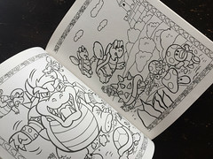Super Mario Bros Paint n Marker Book 1989 Nintendo_09 (gamescanner) Tags: nintendo mario bros coloring book golden kids activity video games 1989 isbn 030701598x 03350015984