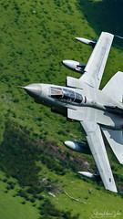 Panavia Tornado GR4 (Steve Moore-Vale) Tags: 055 gr4 panavia raf tornado bluebell machloop royalairforce streamers wales lowflying machynlleth loop military jet aviation plane aeroplane airplane