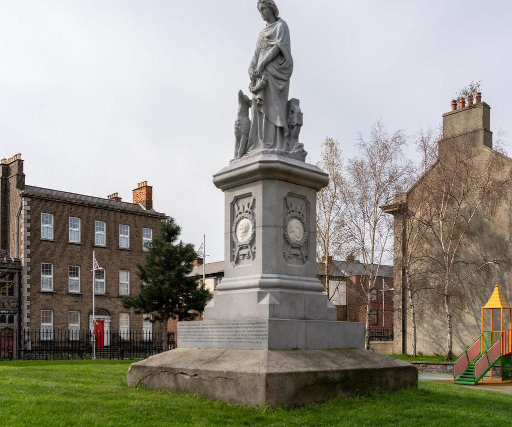Éire 1798 Memorial St. Michan's Park [Photographed Using A Voigtlander 40mm Lens]-151578