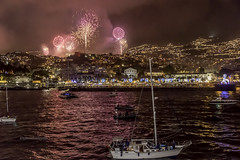 Maderia, Funchal Portugal (stevenbailey7) Tags: boats fireworks light newyearseve sea city buildings lights outside holiday vacation cruise cruiseship ship port show colour colourful night nightlights sky skyscape waterscape seascape landscape party reflections pink blue smoke scenery fun coast nikon beautiful newyear 2018 waterside madeira madeiraisland funchal yachts portugal new portosanto