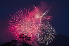 Halcyon (Keith Midson) Tags: fireworks nye hobart tasmania sky