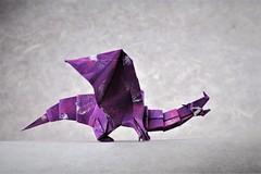 Devil Dragon (v2) - Jo Nakashima (pierreyvesgallard) Tags: origami jo nakashima devil dragon paper papercraft folding