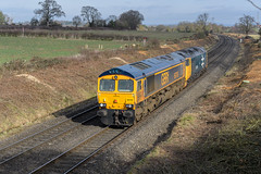DSC_0054 (Tomahawk Photography) Tags: 66749 ukrail ukrailways rail railway railways train britishrailways ladywood class66 class50 50049 gbrf gbrailfreight