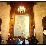 Chicago Illinois - Tribune Tower - Main Lobby as it looked in 2003 thumbnail