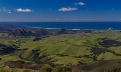Wow!  The green hills from up on Tassajara Peak! (Lisa Roeder) Tags: centralcoast tassajarapeak morrobay greenhills