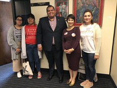 Meeting with Rep. Cesar Chavez