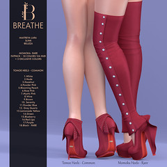 [BREATHE]-Momoka&Tomoe@The Arcade ([Breathe]) Tags: breathe maitreya belleza slink thearcadegacha gacha boots booties bow playgirl