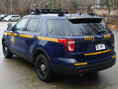 New York State Police (Emergency_Spotter) Tags: ford police interceptor utility fpiu steelies nysp new york state setina alprs awd 35l 37l ecoboost hi risers dual spotlights spot lights queens troopers emergency