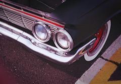 1961 Chevy Biscayne (Robert Jack Images) Tags: car cars vintagecar classiccar chevy chevrolet film analog analogue k1000 pentax chrome carporn carcorners