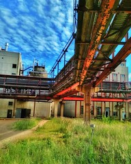 Industrial summer. (mikhafff1984) Tags: industrial industry landscape factory summer color colors summercolors industriallandscape sky bluesky russia soviet urban ussr russian