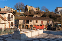 Civita d'Antino, Central Italy (Claudio_R_1973) Tags: rural village urban square street road details fountain centraltaly abruzzo marsica valleroveto civitadantino mountain apennines home house building architecture afternoon sunny winter outdoor