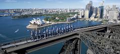 Lattice Climbing in Sydney (feldweg2008) Tags: klettern sport fakten wissen geschichte art freesolo awesome gesichert latticeclimbing bigwall climb ice deep water power zeit