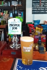St Austell Brewery Proper Job - Dawlish, UK (Neil Pulling) Tags: beer bier biere realale pub brunswickarmsdawlish staustellbreweryproperjob staustellbrewery properjob pint