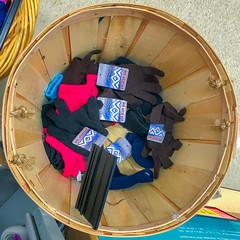 End of Season (Timothy Valentine) Tags: squaredcircle 0319 shopping basket large 2019 gloves whitman massachusetts unitedstatesofamerica us
