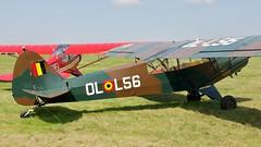OO-HBQ - Piper L-18C Super Cub    Schaffen Diest (V77 RFC) Tags: august2010