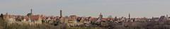 Mittelalterliches Kleinod - Medieval gem (heinrich.hehl) Tags: stadtansicht mittelalter häuser kirchen türme stadtmauer hdr citywall towers churches houses middleages cityscape altstadt oldtown panorama