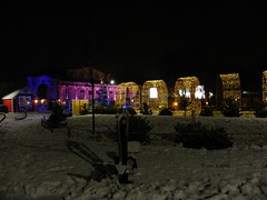 Winter in Bazilescu Park, Bucharest (cod_gabriel) Tags: bazilescu parc park winter iarna iarnă snow zapada zăpadă parculbazilescu bazilescupark bucuresti bucurești bucharest bucarest bucareste romania roumanie românia lights christmas christmaslights night noapte