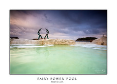 Fairy Bower pool in Manly (sugarbellaleah) Tags: pool rockpool leisure recreation water ocean tide waves waterfall clouds moody stormy light sea tourism scenic popular destination manly fairybowerpool swimming landscape seascape australia weather morning seanymphs nsw