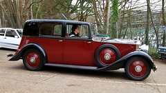 1935 Rolls Royce 20/25 AOU 797 (BIKEPILOT, Thx for + 5,000,000 views) Tags: 1935 rollsroyce 2025 aou797 brooklandsnewyearsdaygathering brooklandsmuseum weybridge surrey uk 2019 newyearsday car vehicle automobile transport classic vintage red black england britain carshow