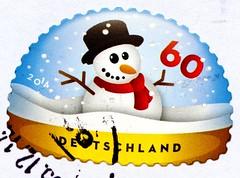 "great xmas stamp Germany 60c (snowman, Schneemann, pupazzo di neve, bonhomme de neige, snögubbe, snømann, snemand, hóember, muñeco de nieve 雪人, снегови́к , lumiukko, boneco de neve, bałwan, om de zapada) noel timbres Allemagne  우표 독일 유럽 sellos Alemania na (stampolina, thx for sending stamps! :)) Tags: germany brd deutschland allemagne jul christmas חג המולד"" joulu weihnachten noel navidad божић natal क्रिसमस natale クリスマス рождество 크리스마스 ziemassvētki kalėdos stamps stamp 切手 briefmarke briefmarken スタンプ postzegel zegels марки टिकटों แสตมป์ znaczki 우표 frimærker frimärken frimerker 邮票 طوابع bollo francobollo francobolli bolli postes timbres sello sellos selo selos razítka γραμματόσημα bélyegek markica маркица pulları snowman schneemann pupazzodineve bonhommedeneige snögubbe snømann snemand hóember muñecodenieve 雪人 снегови́к lumiukko bonecodeneve bałwan omdezapada winter snow schnee"