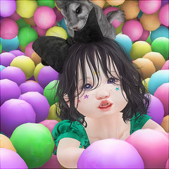 Daisy (daisypea) Tags: flickr spam art daisy crowley secondlife second life sl roleplay toddler child kid children tot td bebe bad seed toddleedoo colour color draw paint crayon photo photography picture rp cute sweet adorable baby little girl daughter sister family look day lotd landscape school create creativity creative ball pit profile