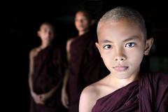 myanmar 2019 (mauriziopeddis) Tags: bagan myanmar burma asia birmania portrait monk monaci people face viso religion buddha reportage color canon tribe tribal buddismo