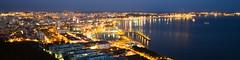 Setubal Noite (jpingo) Tags: city night setubal portugal river